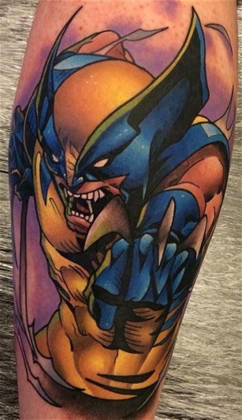 calf wolverine tattoo  tattoo ideas gallery