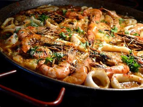 cuisine portugais recette de la zarzuela portugaise
