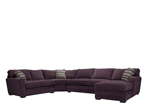 artemis ii 4 pc microfiber sectional sofa artemis ii 4 pc microfiber sectional sofa w sleeper sofa eggplant raymour