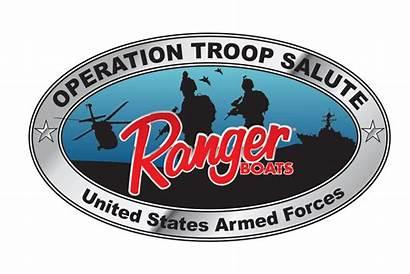 Troop Salute Ranger Operation Marine Boats Iowa