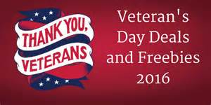 veteran 39 s day deals and freebies 2016