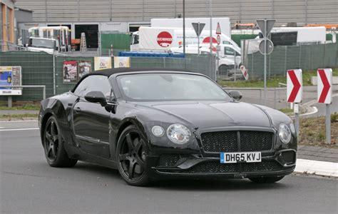 2018 Bentley Continental Gtc Review  Top Speed