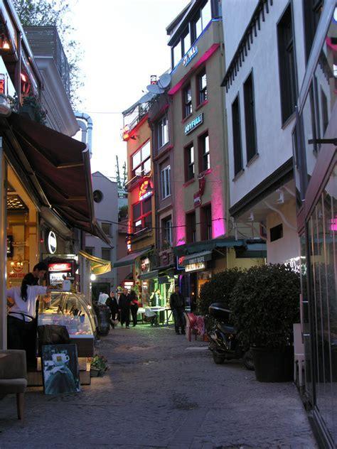 Traditional Ortakoy houses, Istanbul, Turkey