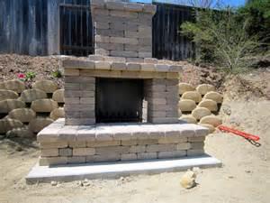 outdoor fireplace bountiful backyard
