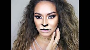 Sexy Lion Makeup Tutorial | Cat Halloween Makeup Tutorial ...