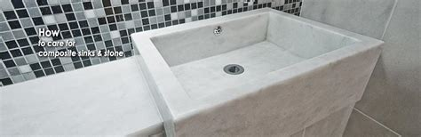 how to clean composite sink kitchen consumer stone care how to clean composite sinks