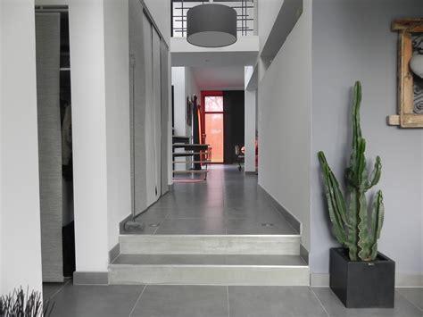 cuisine brique maison avec interieur type loft les architecteurs