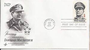 "GEN DOUGLAS MACARTHUR 1971 "" I Shall Return"" FDC - 1971-80"