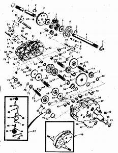 Transaxle Diagram  U0026 Parts List For Model 917254412