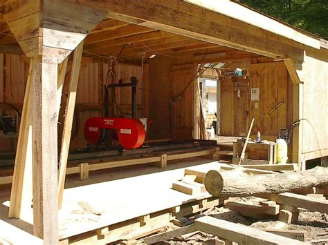 Backyard Sawmill. Modifications And Tricks With Small