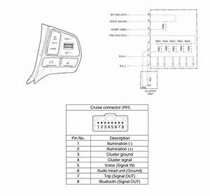 Kia Rio  Cruise Control Switch  Circuit Diagram
