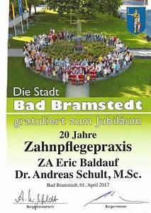 Stadt Bad Bramstedt : die stadt bad bramstedt gratuliert zum praxis jubil um zahn rztliche gemeinschaftspraxis bad ~ Orissabook.com Haus und Dekorationen