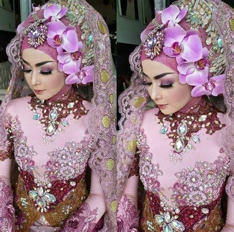 contoh hijab modern pengantin  terpopuler   trend