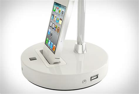 tlight desk lamp  iphone dock