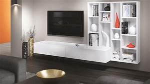 Meuble Tv Living : meubles tv home cinema sur mesure ~ Teatrodelosmanantiales.com Idées de Décoration
