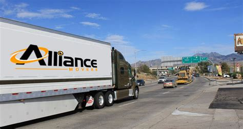 long distance moving company alliance movers  long