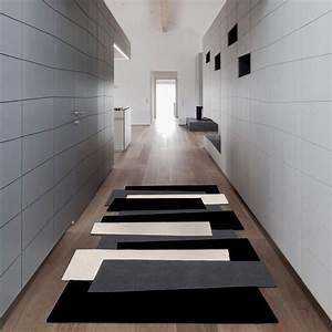 deco couloir noir et blanc maison design sphenacom With couleur peinture couloir sombre 13 relooking deco lyon relooking deco 69 relooking