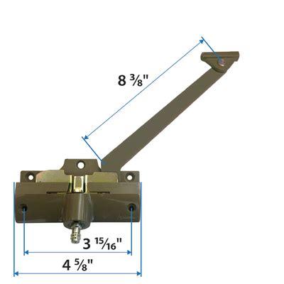 casement straight arm operator  andersen windows doors operators operator parts