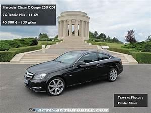 Mercedes Classe C Noir : essai mercedes classe c coup le cha non manquant ~ Dallasstarsshop.com Idées de Décoration