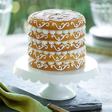 cake layer wilton layers easy pan cakes 15cm scroll naked simplicity cm decorating inch backformen elegant backform plain simple bakvormen