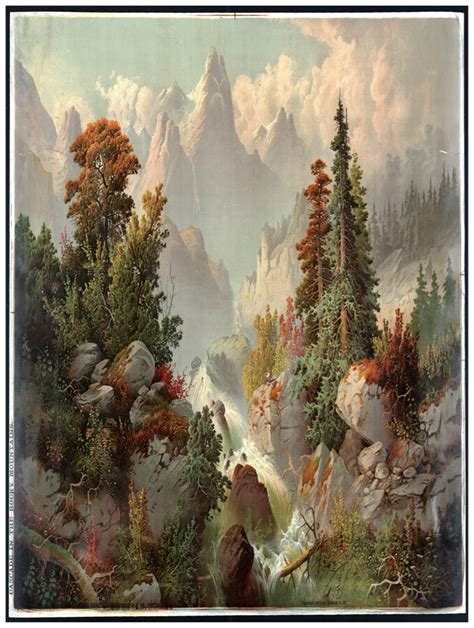 Decor Nature Poster Forest View Fine Wall Graphic Art