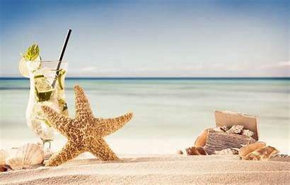 Beach Tropical Summer Sand Background Wallpapers Sea