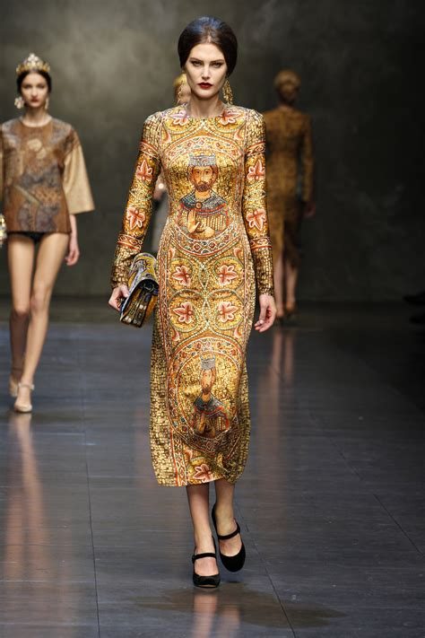 Dolce And Gabbana Fallwinter 20132014 Religion And
