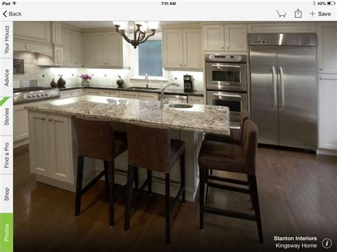 kitchen islands with seating for 2 pergaminho with cream kitchen pinterest kitchens and kitchen breakfast nooks