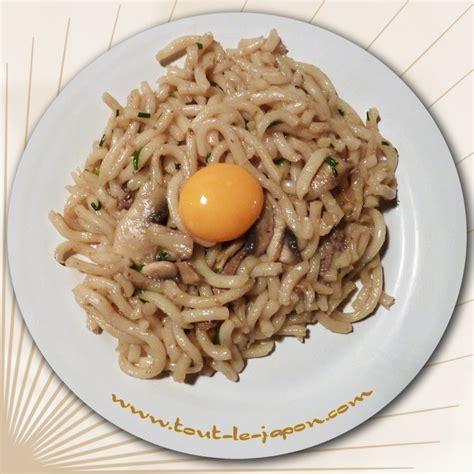 recette de la cuisine recette de cuisine japonaise le sukiyaki udon