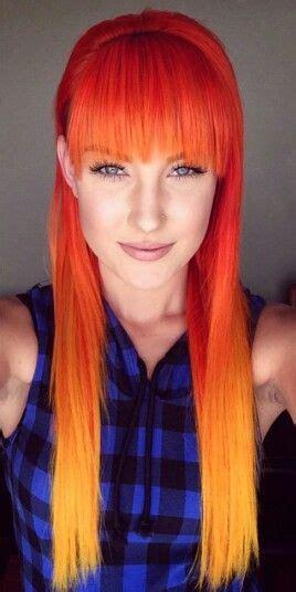Fire Sunset Hair Hair Colors Ideas