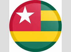 Togo flag vector country flags