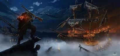 Pirate Ship Screensaver Fantasy Weihnachtstrubel Ghost Wallpaperscreator