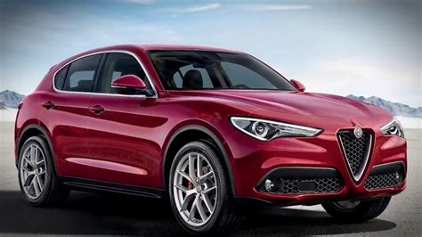 2019 alfa romeo stelvio watch the redesigned interior driving technology powerful midsize