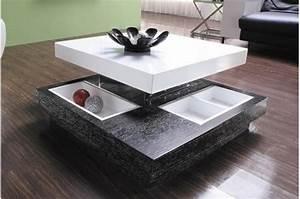 Table Basse Bois Pas Cher : table basse pas cher et design le bois chez vous ~ Carolinahurricanesstore.com Idées de Décoration