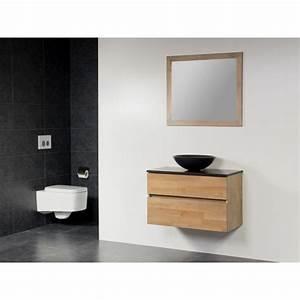 meuble salle de bain avec vasque a poser obasinccom With meuble salle de bain suspendu avec vasque
