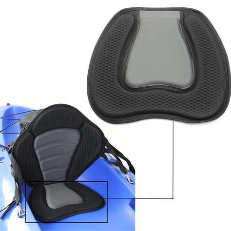 siege confortable canoë kayak confortable siège réglable rembourrées noir