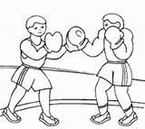 Boxing Coloring Sport Boxer Printable Colouring Gloves Sheets Tree Alex Morgan Boxers Boy Golf Anycoloring Bag Drawing sketch template
