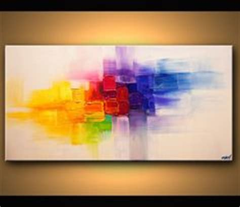 painting original contemporary modern abstract