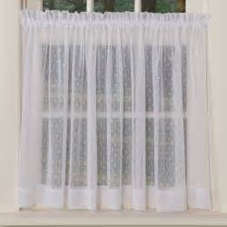 White Kitchen Curtains Valances by Dotted Sheer Curtains Sturbridge Yankee Workshop