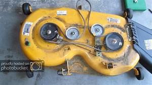 Ltx 1045 Mower Deck Wheel Mount Broken