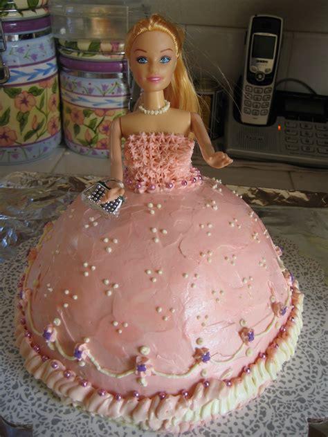 barbie cakes birthday party ideas