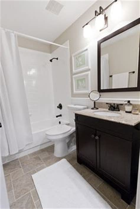 A Great Builder Grade Bathroom Makeover She Did This All