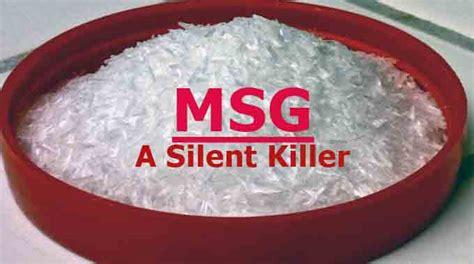 glutamate cuisine msg a silent killer naet dubai