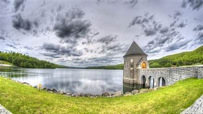 Dam Saville Cloudy Barkhamsted Connecticut Another Shot