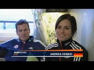 Andrea Henkel und das US-Team - YouTube