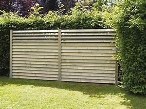 Cloture Et Jardin : palissade claustra quelle cl ture prot ge mon jardin ~ Nature-et-papiers.com Idées de Décoration