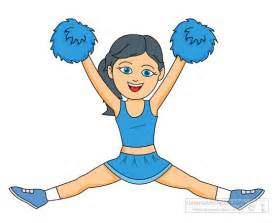 Cheerleader Cartoon Clip Art Free