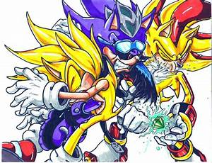 Super Scourge The Hedgehog Vs Sonic | www.imgkid.com - The ...