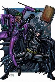 Batman vs Joker Comics