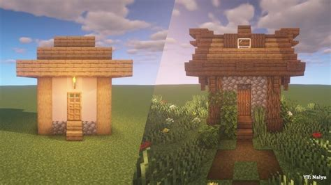improved villager house rebuild      build idea minecraft minecraft designs